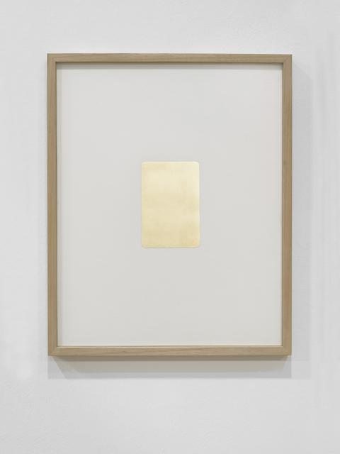 , 'Golden Memories,' 2015, Akinci