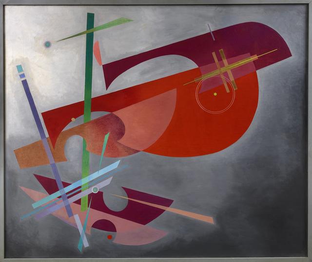 Rolph Scarlett, 'Red Form', 1946, Debra Force Fine Art