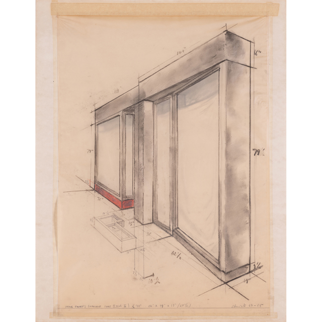 Christo and Jeanne-Claude, 'Store front's, (Project part I and II)', 1964-65, PIASA