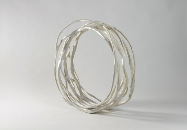 , 'White Cycle I,' 2014, Callan Contemporary