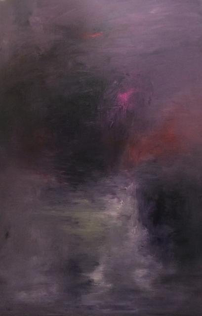 MD Tokon, 'Moon Light Walk', 2018, Painting, Acrylic on Canvas, Isabella Garrucho Fine Art