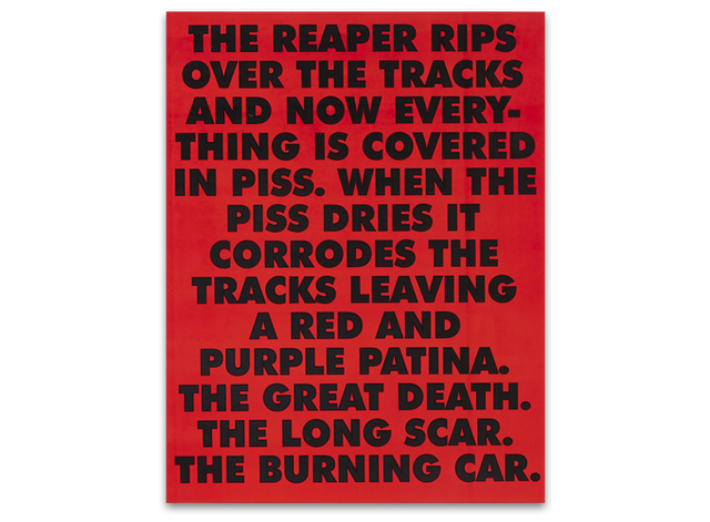 Sterling Ruby, 'THE REAPER Limited Edition Poster', 2015, Moderna Gallery