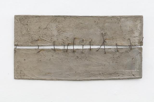 , 'Cemento Armato,' 1959, Galleria Tega