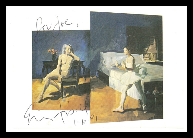 Eric Fischl, 'Bayonne (Hand Signed & Inscribed)', 1991, Alpha 137 Gallery