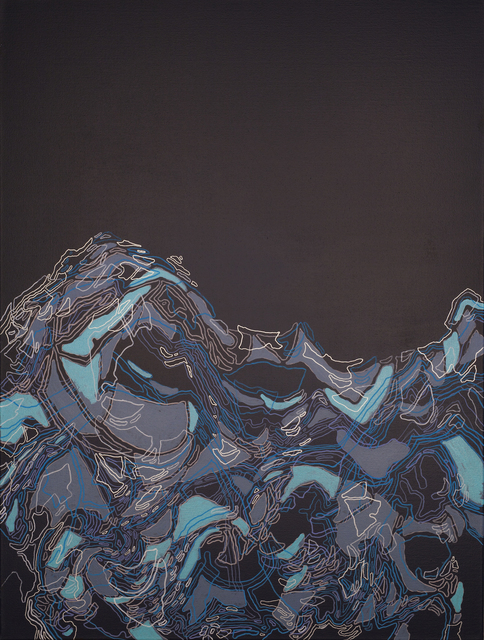 , 'Ice Flow I,' ca. 2019, Copley Society of Art