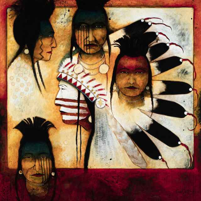 , 'Chief and His Men,' , Sorrel Sky Gallery