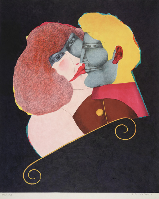 Richard Lindner, 'Kiss,' 1971, Dallas Museum of Art
