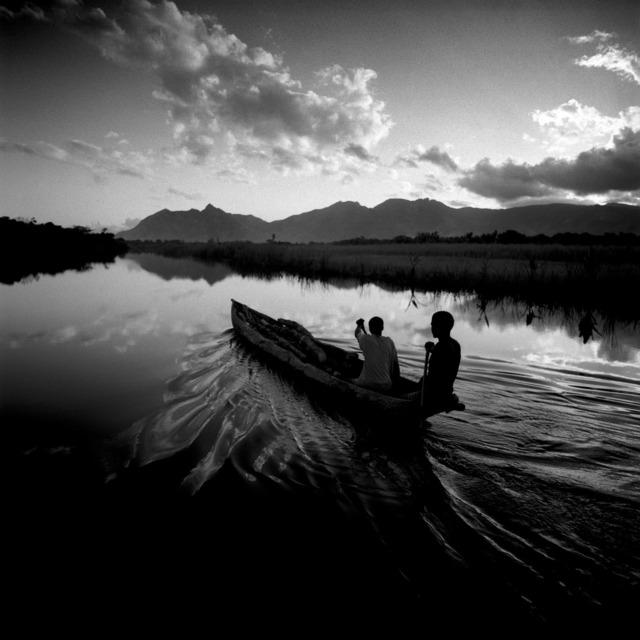 , 'Two Men in a Canoe, Madagascar,' 1997, Atlas Gallery