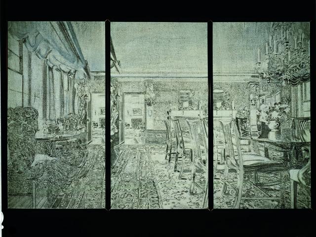 Richard Artschwager, 'Triptych V,' 1972, Hammer Museum