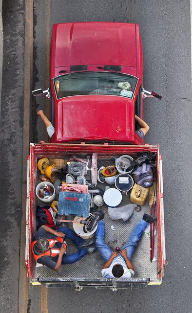, 'Carpoolers #33,' 2012, Patricia Conde Galería