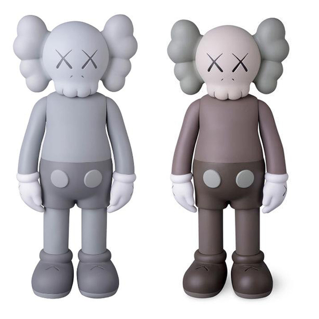 KAWS, 'Companion Brown (Full Bodied) and Companion Mono (Full Bodied)', 2016, Lougher Contemporary Gallery Auction