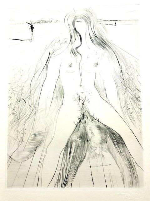 "Salvador Dalí, 'Original Etching ""Venus in Furs X"" by Salvador Dali', 1968, Galerie Philia"