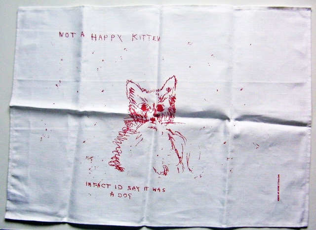 , 'NOT A HAPPY KITTEN,' 2003, Alpha 137 Gallery