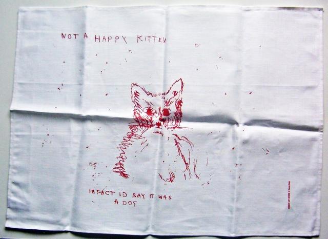 , 'NOT A HAPPY KITTEN,' 2003, Alpha 137 Gallery