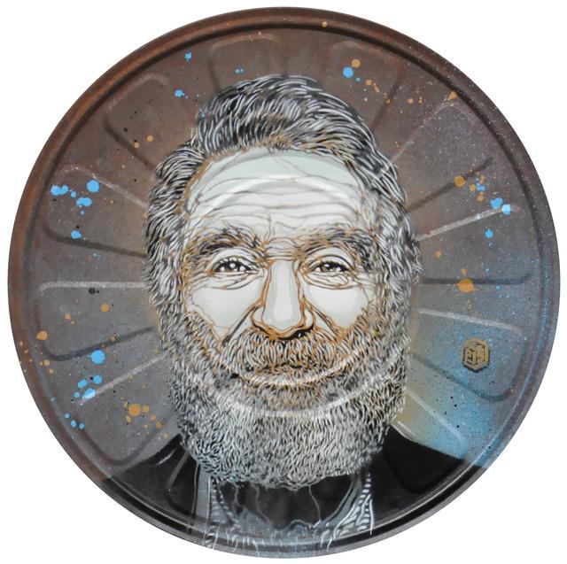 C215, 'Robin Williams', 2019, Mazel Galerie
