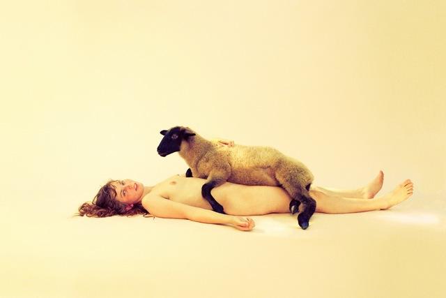 , 'Lying Lamb,' 2012, Tomio Koyama Gallery