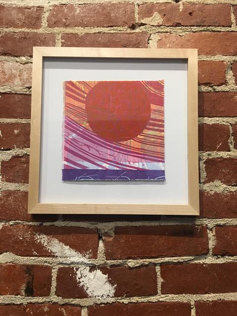 , 'Circles in Square 204,' 2019, Mason-Nordgauer Fine Arts Gallery