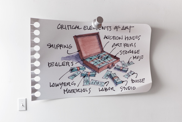 , 'Critical Elements,' 2018, JFRH Art Supply