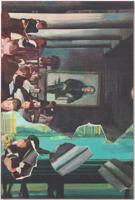, 'Vertical Painting #1,' 2012, SPROVIERI