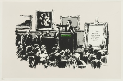 Banksy, 'Morons,' 2007, Forum Auctions: Editions and Works on Paper (March 2017)