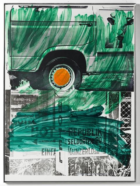, 'Grass Hotel (Urban Bourbon),' 1994, Galerie Thaddaeus Ropac