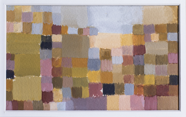 , 'Colour study for a landscape painting,' 2012, Monsoon Publishing / Ugg Boot Press / Red Rag Press