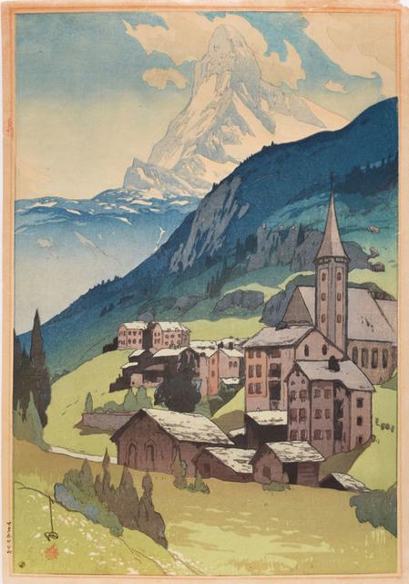 , 'Matterhorn - Day,' 1925, Ronin Gallery