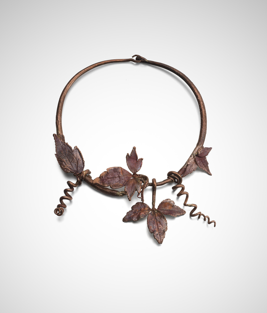 , 'Vine Leaf Choker ,' 2014, Louisa Guinness Gallery