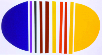 , 'Blue and Lemon ,' 2001, The Missing Plinth