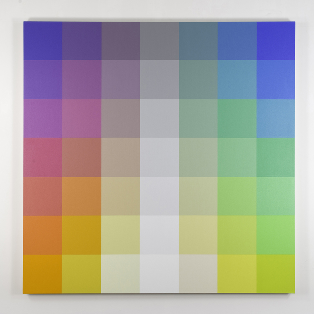 , 'Untitled, Study for 7x7-15x19-A Pair,' 2015, Philip Slein Gallery