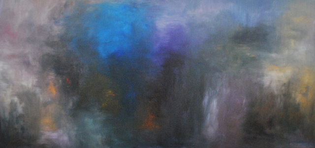 MD Tokon, 'Musical Mist', 2018, Painting, Acrylic on Canvas, Isabella Garrucho Fine Art