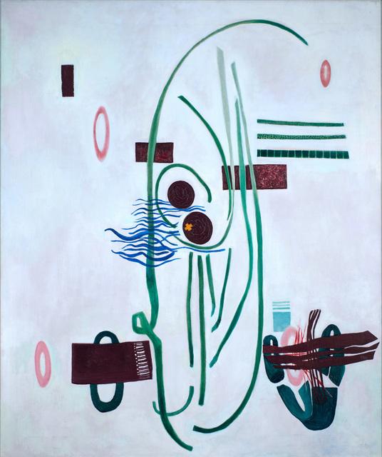 , 'Orange Cross,' ca. 1947, Weinstein Gallery