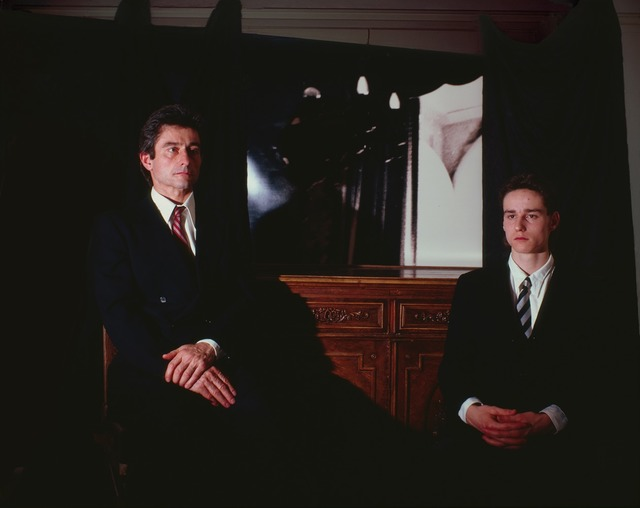 , 'The Collector and his Son,' 1987, Mirko Mayer