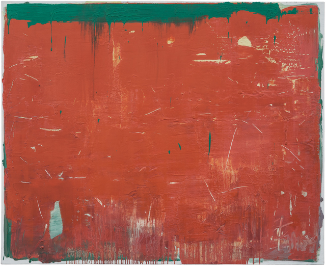 , 'Composition Red 14-18,' 2014, CYNTHIA-REEVES