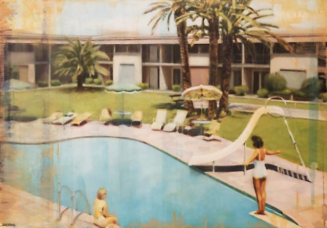 Doug Haeussner, 'Desert Rose Motor Hotel', Walker Fine Art