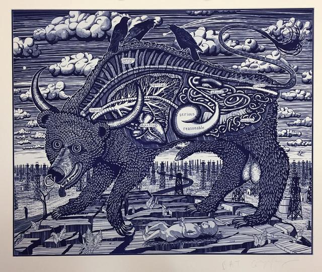 , 'Animal Spirit (blue) ,' 2016, Galerie Maximillian