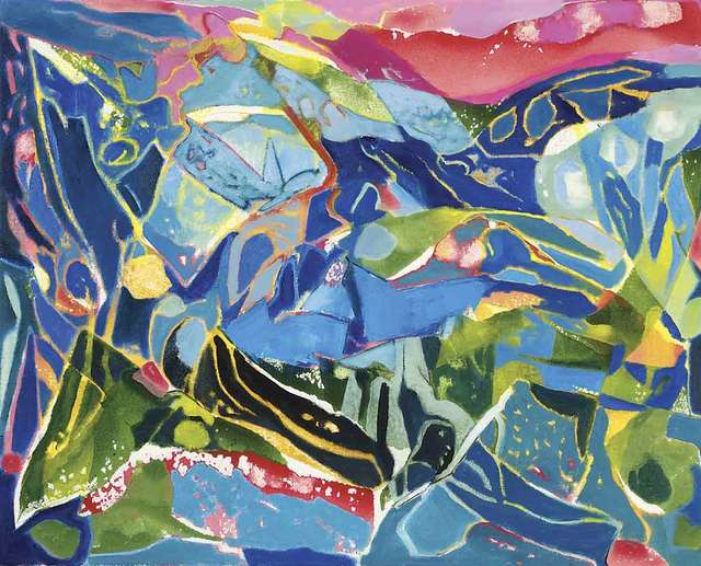 , 'Apennine Blue,' , Catto Gallery