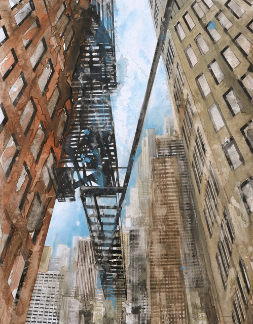 , 'New York Escalier de secours I,' 2016, Galerie Arcturus