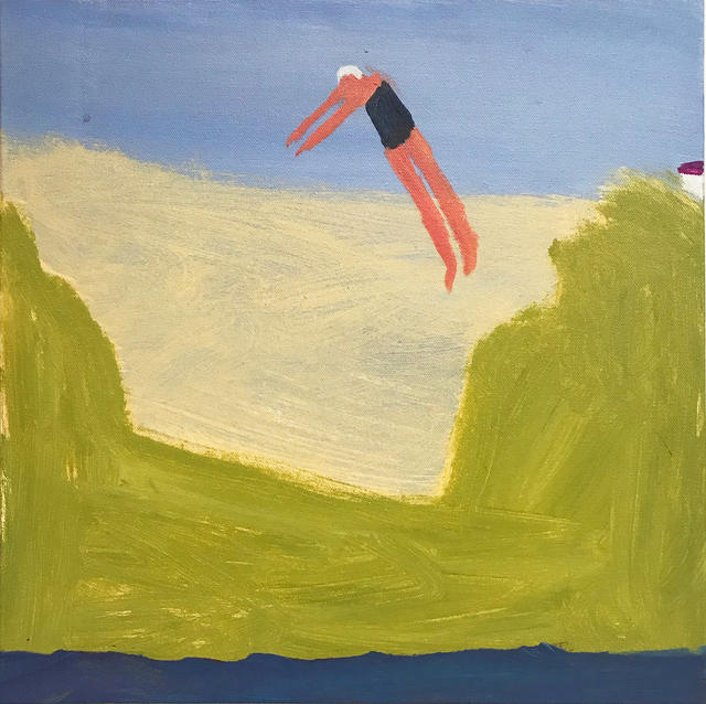 Katherine Bradford, 'Summer Dive', 2018, Center for Maine Contemporary Art (CMCA) Benefit Auction