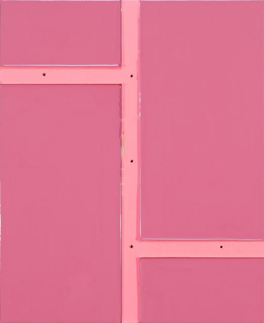, 'Even Pink,' 2016, Johannes Vogt Gallery