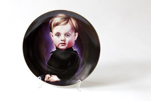 Nir Hod, 'Genius', 2012, Design/Decorative Art, Porcelain and Gold, Grey Area