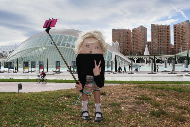 , 'Valencia Selfie,' 2016, Projekteria [Art Gallery]