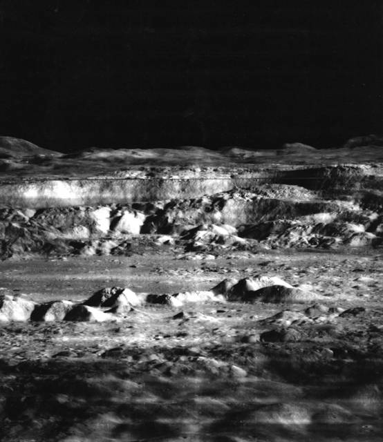, 'The Moon - Crater Copernicus - Closeup, November 23,' 1966, Charles Schwartz Ltd.