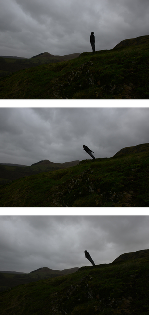 , 'Leaning into the wind, Dumfriesshire, Scotland, 15 January 2015,' 2015, Galerie Lelong & Co.