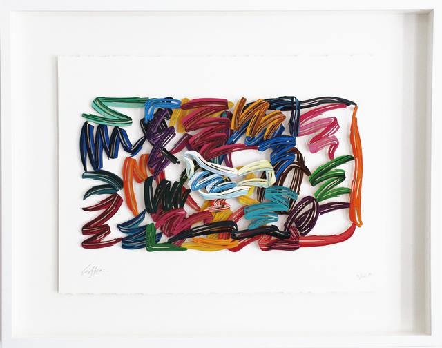 , 'White Hope - Paper Cut,' 2007, Galerie Duret