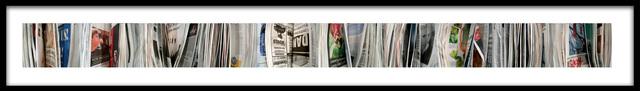 Barbara Astman, 'danger, Newspaper series', 2006, Corkin Gallery
