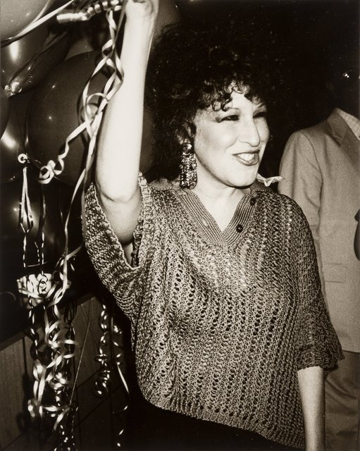 Andy Warhol, 'Bette Midler at Studio 54', Heritage Auctions