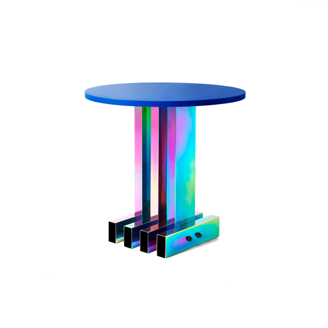 Studio BUZAO, 'Dining Table', 2018, Design/Decorative Art, Electroplated Stainless Steel, Plastic, Gallery ALL