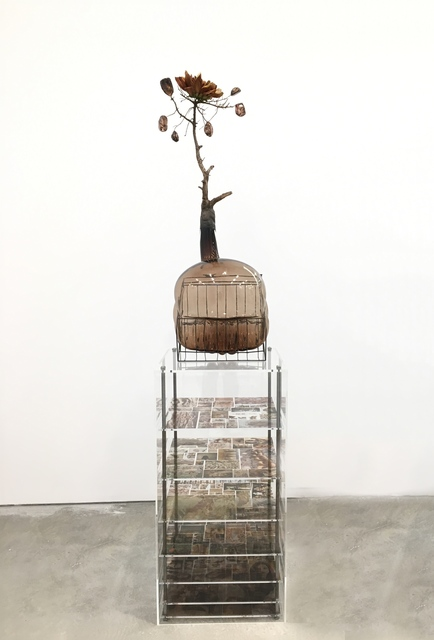 , 'Of Beauty and Decay; or, not (brown II),' 2018, Malin Gallery