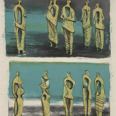 , 'Standing Figures,' 1950, Childs Gallery